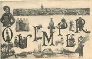 """29 Finistere CPA FRANCE 29 """"Quimper"""" / FOLKLORE"""