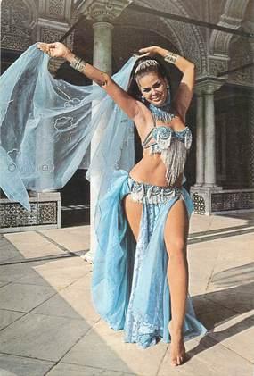 """CPSM  TUNISIE """"La danseuse Ahlem"""""""
