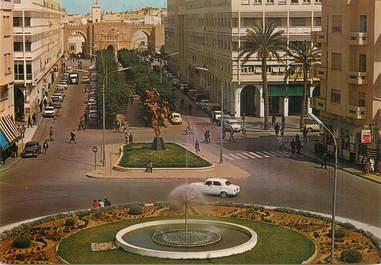 "CPSM  TUNISIE ""Sfaw, avenue Hédi Chaker"""