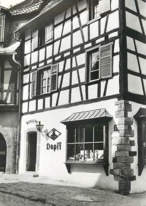 """/ CPSM FRANCE 67 """"Riquewihr, magasin de vente Dopff, au moulin"""""""
