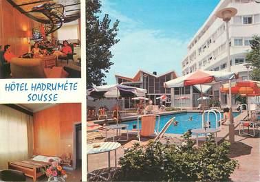 """CPSM   TUNISIE  """"Sousse, Hotel Hadrumete"""""""