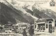 """/ CPA FRANCE 74 """"Chamonix, au nougat du Mont Blanc"""" / PUBLICITE  NOUGAT"""