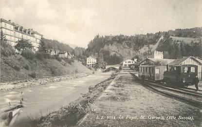 """/ CPA FRANCE 74 """"Le Fayet, Saint Gervais"""""""