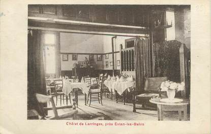 """/ CPA FRANCE 74 """"Château de Larringes près d'Evian Les Bains"""""""
