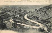 """12 Aveyron CPA FRANCE 12 """"Villefranche de Rouergue, le contour de la Rte de Rieupeyroux, l'Aveyron illustré"""""""