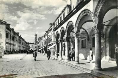 "CPSM  CROATIE   ""Dubrovnik, la rue principale"""