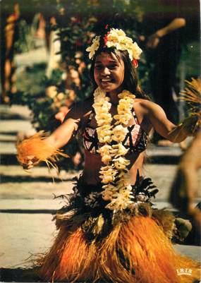 CPSM TAHITI /  Danseuse
