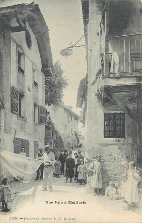 """/ CPA FRANCE 74 """" Une rue à Meillerie"""""""