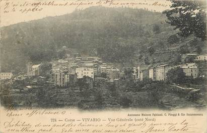 """CPA FRANCE 20 """"Corse, Vivario, vue générale Côté Nord"""""""