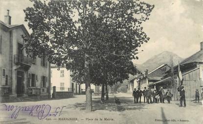 """/ CPA FRANCE 74 """"Marignier, place de la mairie"""""""