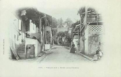 "/ CPA FRANCE 74 ""Vieille rue à Rives sous Thonon"""