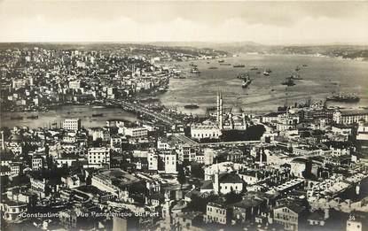 CPA TURQUIE / Constantinople, vue panoramique du port