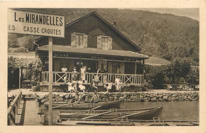 "/ CPA FRANCE 74 ""Sevrier, chalet restaurant Les Mirandelles"""