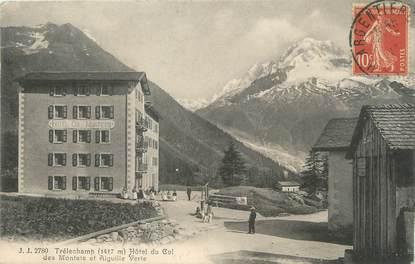 """/ CPA FRANCE 74 """"Trélechamp, hôtel du col des Montets"""""""