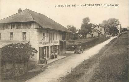 """/ CPA FRANCE 74 """"Saint Sylvestre, Marcelette"""""""