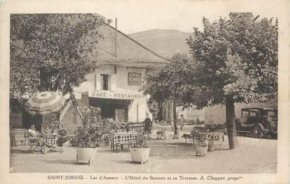"""/ CPA FRANCE 74 """"Saint Jorioz, l'hôtel du Semnoz et se terrasse"""""""
