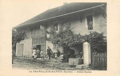 "CPA FRANCE 73 ""La Chapelle Saint Martin, Hotel Gache"""