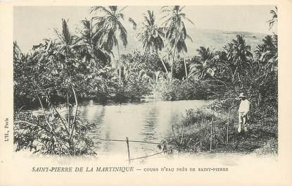 CPA MARTINIQUE / Saint Pierre, Cours d'eau près de Saint Pierre