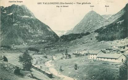 """/ CPA FRANCE 74 """"Vallorcine, vue générale """""""