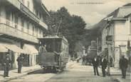 """73 Savoie CPA FRANCE 73 """"Brides les Bains, le tramway"""""""