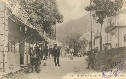 """CPA FRANCE 73 """"Brides les Bains, ancienne route de Moutiers"""""""