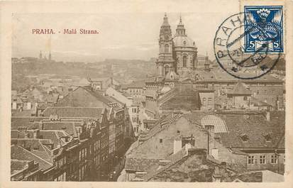 CPA TCHÉCOSLOVAQUIE / Praha, Malà Strana