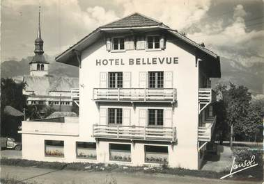 "/ CPSM FRANCE 74 ""Cordon, hôtel Bellevue"""