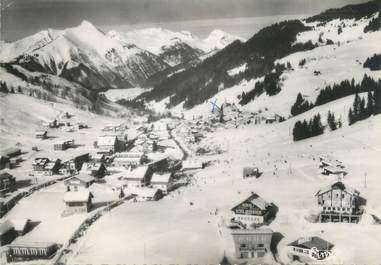 """/ CPSM FRANCE 74 """"Les Gets, vue panoramique aérienne"""""""
