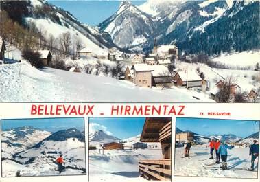 "/ CPSM FRANCE 74 ""Bellevaux Hirmentaz"""