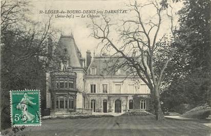 """CPA FRANCE 76 """"Saint Léger du Bourg Denis près Darnétal"""""""