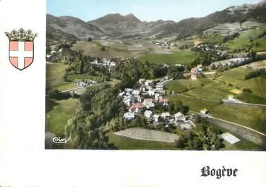 """/ CPSM FRANCE 74 """"Bogève, vue générale de la vallée verte"""""""