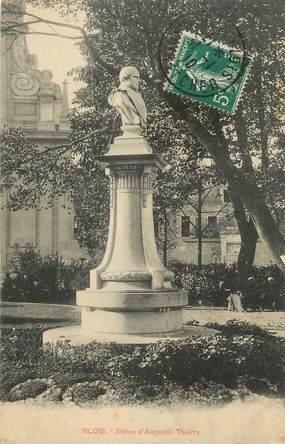 "CPA FRANCE 41 ""Blois, Statue d'Auguste Thierry"""
