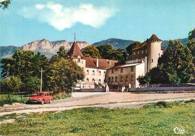 "/ CPSM FRANCE 74 ""Lugrin, château d'Allaman"""