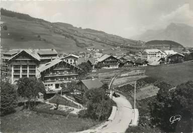 """/ CPSM FRANCE 74 """"Megève, la vallée blanche, l'ours blanc"""""""