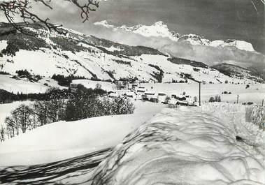 "/ CPSM FRANCE 74 ""Megève, village du Planellet"""