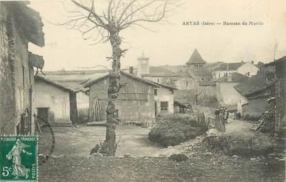 """/ CPA FRANCE 38 """"Artas, hameau du Martin"""""""