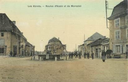 """/ CPA FRANCE 38 """"Les Abrets, routes d'Aoste et de Morestel"""""""