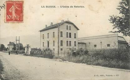 """/ CPA FRANCE 38 """"La Buisse, l'usine de soieries"""""""