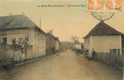 """/ CPA FRANCE 38 """"Evrieux Le Haut, La Batie Mont Gascon"""""""