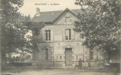 "/ CPA FRANCE 38 ""Beaufort, la mairie"""
