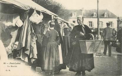 """CPA FRANCE 29 """"Pont l'Abbé, le marché"""""""