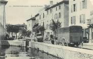 """38 Isere / CPA FRANCE 38 """"Beaurepaire, quai des Terreaux """""""