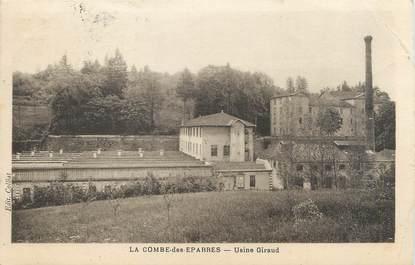 "/ CPA FRANCE 38 ""La Combe des Eparres, usine Giraud"""
