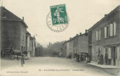 """/ CPA FRANCE 38 """"La Combe des Eparres, grande rue"""""""