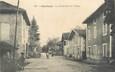 "/ CPA FRANCE 38 ""Chantesse, la grande rue du village"""