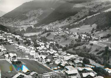 """/ CPSM FRANCE 74 """"Morzine, vue panoramique aérienne"""""""