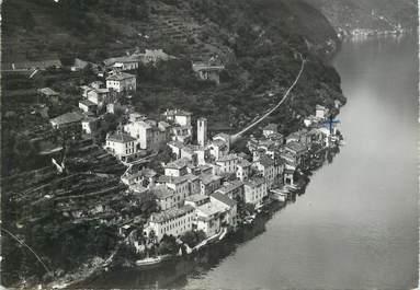 """CPSM  SUISSE """"Gandria, lac de Lugano"""""""