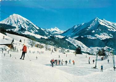 "CPSM  SUISSE ""Leysin, ski"""