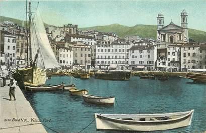 "CPA FRANCE 20 ""Corse, Bastia, vieux port"" / AQUA PHOTO"
