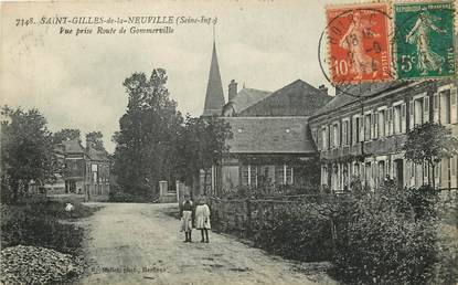 """CPA FRANCE 76 """"Saint Gilles de la Neuville"""""""